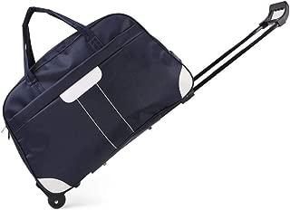 Large Capacity Package,Laptop Tablet Rolling Tote Bag Briefcase Carryall Bag,Trolley Bag Travel Bag Tote,D