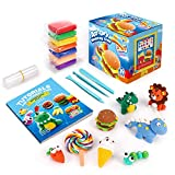 Sago Brothers Air Dry Clay, 24 Colors Modeling Clay for Kids, Molding...