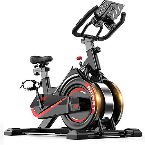 Find Bargain ROBDAE Spinning Bike Ultra-Quiet Sport Magnetic Exercise Bike for Household Indoor Bicy...