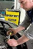 Stanley 1-13-770 Llave de vaso1/4 con carraca, cabeza alargada y mango bimateria,...