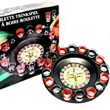 Toys4boys Juego Chupitos Ruleta, Drinking Roulette Set, Ruleta con...