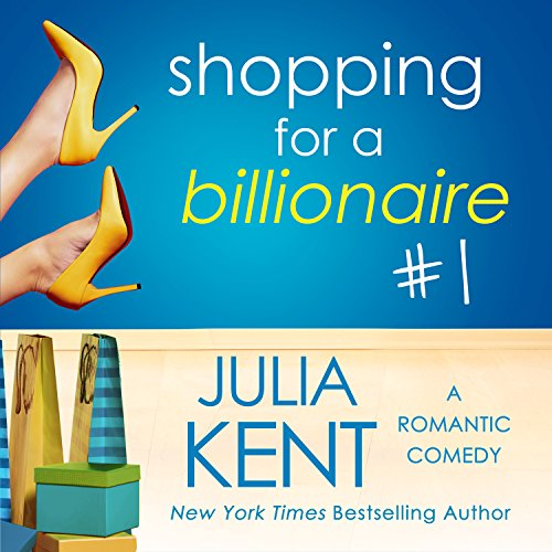 Shopping for a Billionaire  audiobook cover art