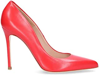 SERGIO LEVANTESI Women's MISSRED Red Leather Pumps