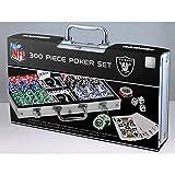 MasterPieces NFL Las Vegas Raiders 300-Piece Poker Chip Set