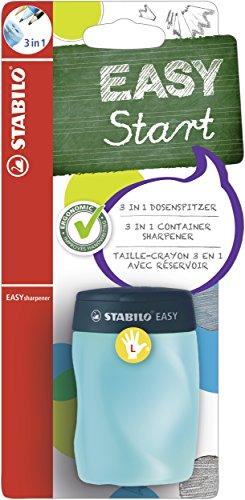 """STABILO""""Easy"""" Left Handed Blister Sharpener - Petrol"""