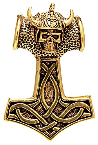Kiss of Leather Thorshammer Anhänger aus Bronze Nr. 115