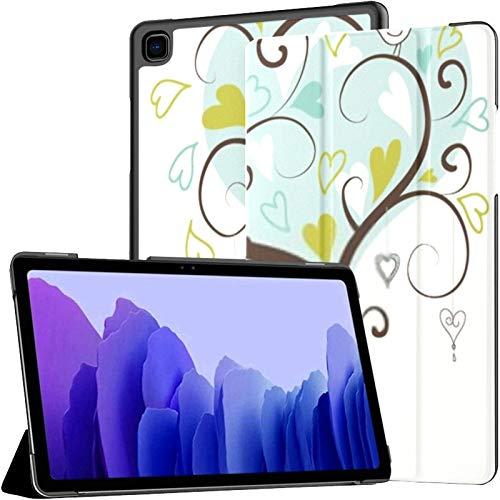Samsung A7 Funda para Tableta Estilizada Love Tree Made Hearts Two Funda para Samsung Galaxy Tab A7 10.4 Inch Funda Protectora de liberación 2020 Funda Samsung Galaxy A7 Funda para Tableta Funda de c