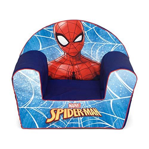 ARDITEX Marvel-Spiderman SM13037 Sofa mit abnehmbarem Schaumstoffbezug, 42 x 52 x 32 cm