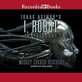 Isaac Asimov's I, Robot audiobook cover art