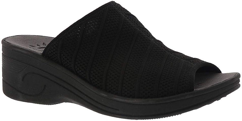 Women's Easy Street, Airy Mid Heel Wedge Sandals