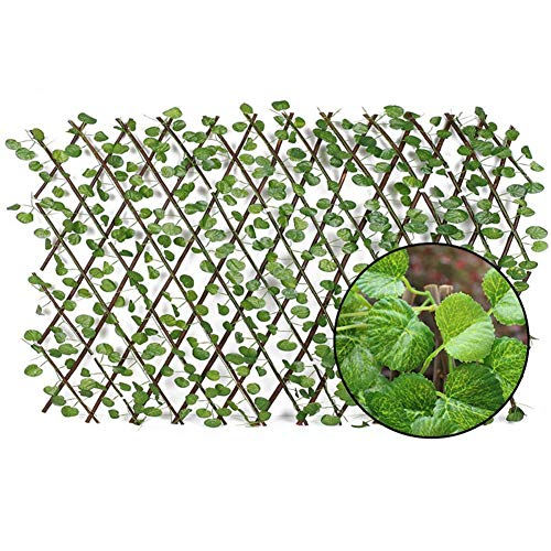 Gardening fences, garden fences for the home, UV protected edging grounding decorative plastic artificial lawn, plants hedges hanging panels screen Begonia Piccola b