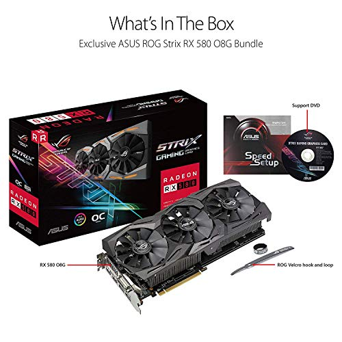 Build My PC, PC Builder, ASUS ROG-STRIX-RX580-O8G-GAMING
