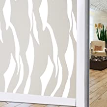 Longwu Window Film Sticker Wide 45cm Long 200cm Frosted Opaque Glass Window Film for Privacy Window Decoration Sticker for...