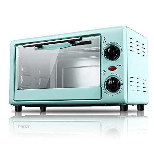 DULPLAY 10L Mini toaster Oven,Best convection,Includes bake pan, Broil rack Countertop Oven Stainless Toast Home Kitchen-A 40x25.3x25.9cm(16x10x10inch)