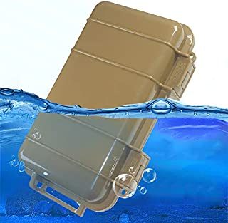 KNC 1PCS Outdoor Plastic Waterproof Shockproof Box Airtight Survival Case Container Storage Carry Box