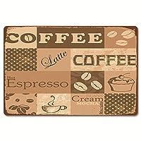 ブリキ看板 コーヒーショップ coffee 雑貨 壁掛けプレート レトロ雑貨 インテリア バー クラブ 喫茶店装飾