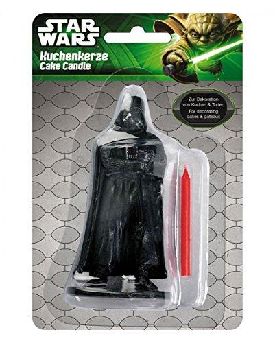 Horror-Shop Vela de la torta de Darth Vader