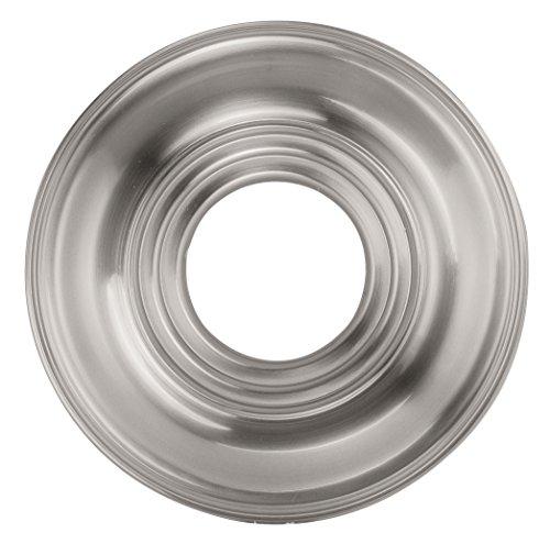 Livex Lighting 8209-91 Ceiling Medallion, Brushed Nickel