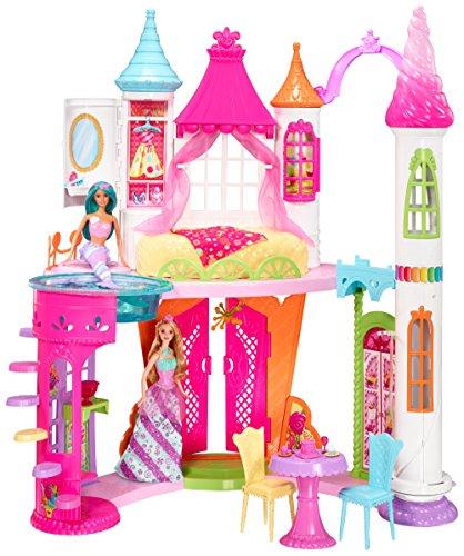 Barbie- Dreamtopia Sweetville Castle Palacio Reino de las Chuches, Multicolor, 63 x 37 x 18 cm (Mattel DYX32) , color/modelo surtido