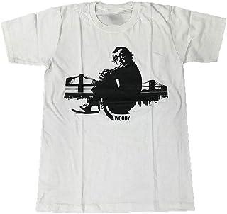 TOPOI Woody Allen/ウディ・アレン プリントTシャツ ムービーTシャツ キャラクターTシャツ...