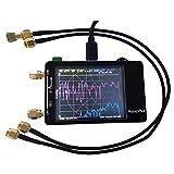 SODIAL para Nanovna Red de Vectores Analizador Prensa Pantalla Hf VHF UHF UV 50Khz-900Mhz Analizador de Antena Recargable