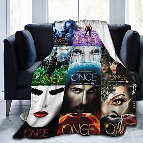 Once Upon A Time Ultra Soft Fleece Blanket Boys/Girls/Teen/Kid Warm Flannel Blankets and Throw Blankets All Season Sofa Bed Blanket and Living Room,50'X40'