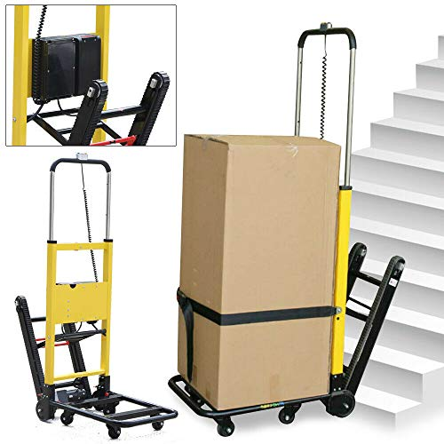 440lb Max Load Electric Folding Stair Climbing Vehicle...