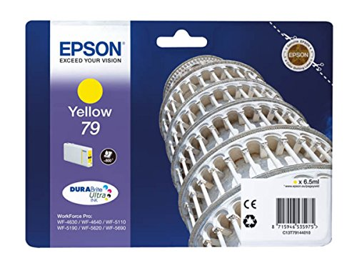 Epson WorkForce Pro WF-5620 DWF (79 / C 13 T 79144010) - original - Ink cartridge yellow - 800 Pages - 6,5ml