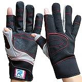RainRider Sailing Gloves for Men Women Long Finger Fishing Boating Kayaking Surfing Dinghy Canoe...