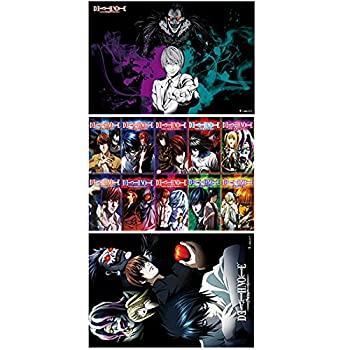 Death Note Poster Japanese Anime Poster Art Prints for Home Wall Decor Posters,11.5in x16.5in Set of 3 PCS  Death Note