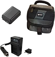 Hasselblad Lunar Mirrorless Digital Camera Accessory Kit Includes: SDNPFW50 Battery, SDM-1530 Charger, SDC-27 Case