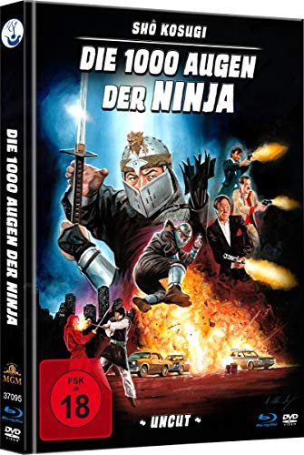 Die 1000 Augen der Ninja - Uncut Limited Mediabook (HD neu abgetastet) (+ DVD) [Blu-ray]