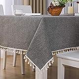 sans_marque Paño de mesa, puede limpiar el paño de mesa, limpiar la cubierta protectora impermeable de la mesa, se utiliza para la cocina picnic al aire libre interior140 x 240 cm