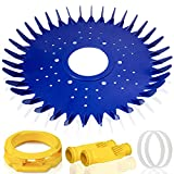 ARLBA Pool Vacuum Cleaner Parts Kit Replacement for Zodiac Baracuda G2, G3, G4, Alpha 2, 3 Including W70329 Pool Cleaner Finned Seal/Disc/Skirt & W69698 Long Life Diaphragm & W70327 Foot Pad - 6 Pack