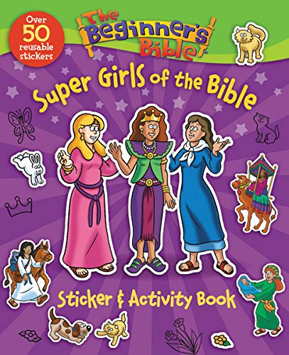 The Beginner's Bible Super Girls of the Bible Sticker and Activity Book