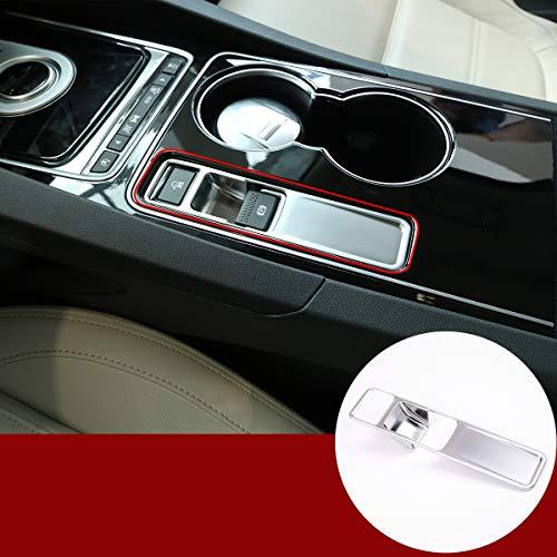 Auto-Zubehör Innenausstattung Elektronische Handbremsverkleidung Aufkleber für Jag XE F-Pace XF F Pace 2016–2018