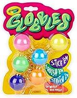 CrayolaGlobbles, Squish & Fidget Toys,  Kids, 6Count, Multicolor