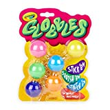 Crayola Globbles, Squish & Fidget Toys, Gift for Kids, 6Count, Multicolor