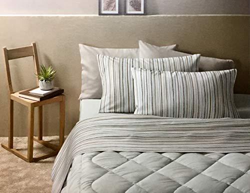 Zucchi - Bettwäsche-Set für Einzelbett aus warmer Baumwolle.