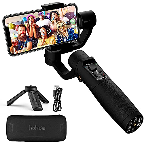Smartphone Gimbal Stabiliser – Hohem 3-Axis Gimbal Stabiliser with Sports Mode, Smart...