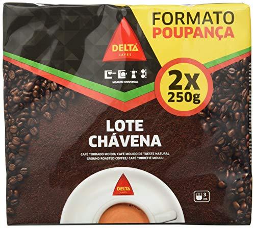 Delta - Chávena Café Molido De Tueste Natural 500 gr