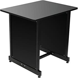 On-Stage WS7500 Series Workstation Rack Cabinet, Black