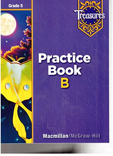 Treasures Practice Book B Grade 5
