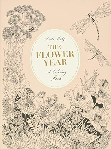 FLOWER YEAR: A Coloring Book (a Flower...