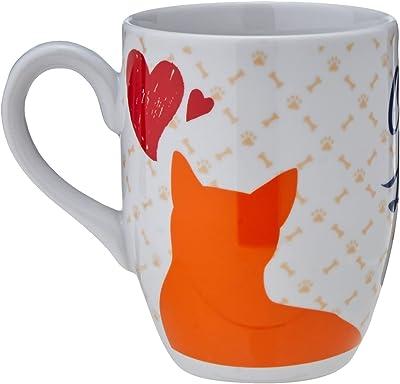 CANECA CAT LOVERS CERAM 350ML