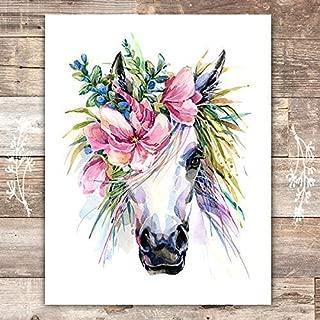 Unicorn Wall Decor Art Print - Unframed - 8x10s