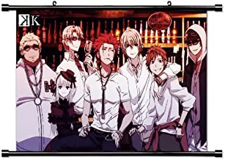 K Project Anime Fabric Wall Scroll Poster (32