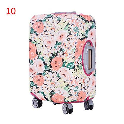 Deylaying - Juego de maletas de Poliéster Mujer #10 Small