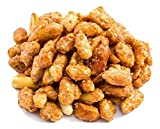 Oregon Farm Fresh Snacks Toffee Peanuts - Sun-Baked Sweet Peanuts Covered in Toffee - Locally Made Butter Toffee Peanut Snack - All Natural Ingredients - Resealable Bag Guarantees Freshness - (24oz)