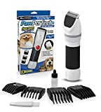 Bell+Howell PAWPERFECT Pet Fur and Hair Trimmer with Stainless Steel and Ceramic Blades, Dial Switch and Length Control for Dogs, Cats, and Other Furry Pets As Seen On TV